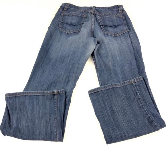 NYDJ Denim - NYDJ Womens Blue Straight Denim Jeans 8